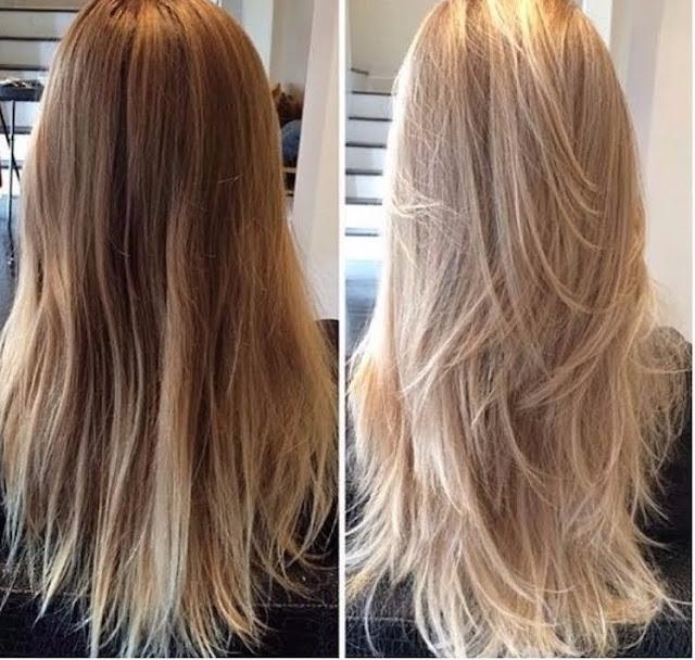 Se você quer clarear o seu cabelo sem danificar, saiba que tem como e é uma receita com produtos naturais que não ressecam o seu cabelo. Você precisa usar algumas vezes, se caso o cabelo for escuro, pois como o produto é natural, só vai começar a aparecer depois de algumas aplicações. Mas não se preocupe pois funciona sim e o melhor de tudo é que não danifica o seu cabelo.