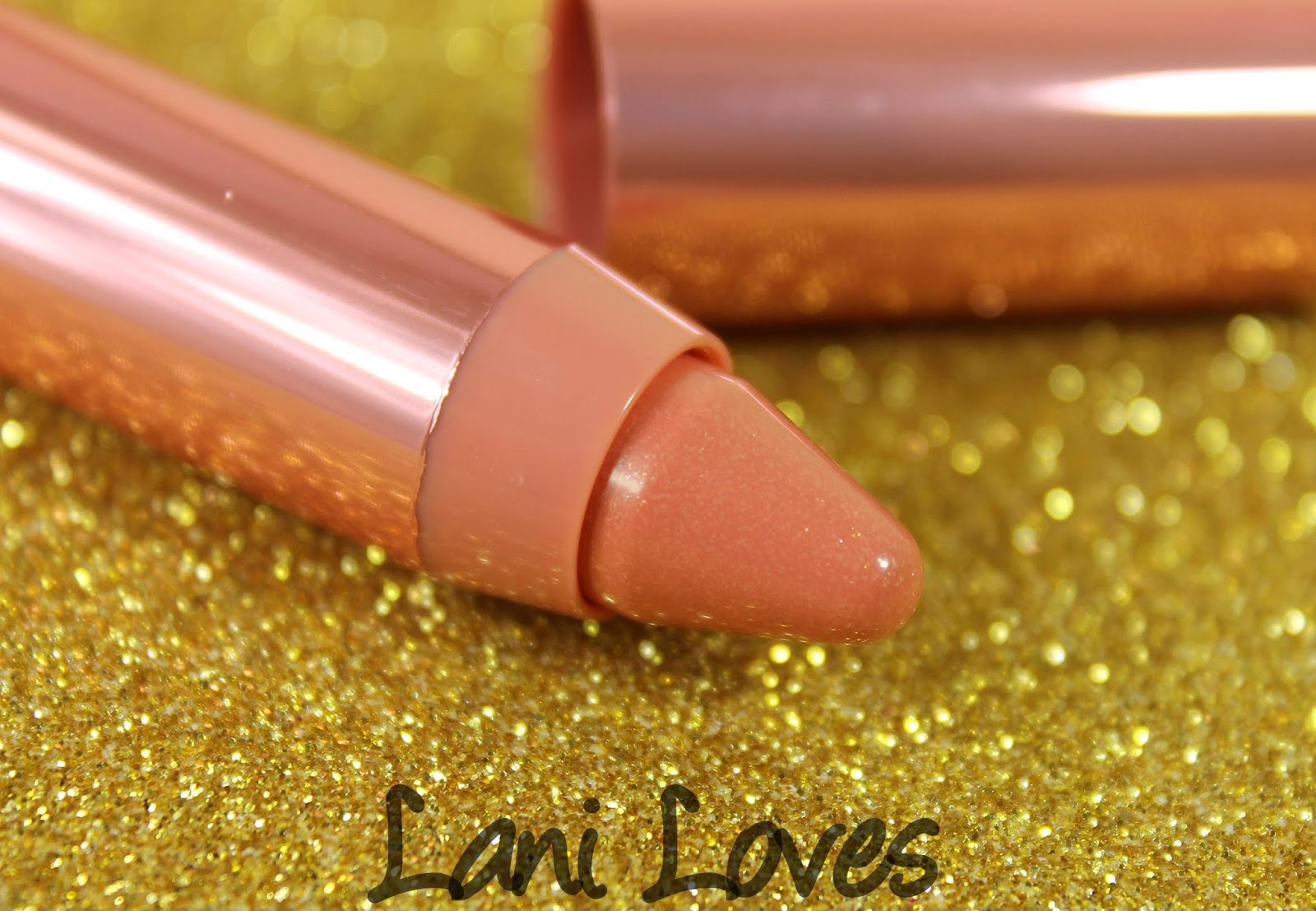 Revlon Colorburst Lacquer Balm - Demure Swatches & Review