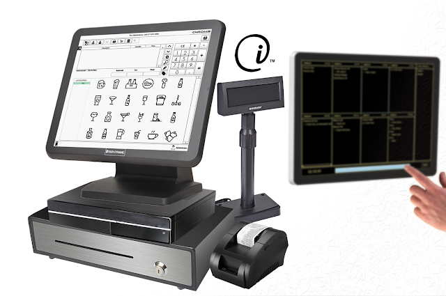 Open Interface POS with Industrial TrueFlat Touch