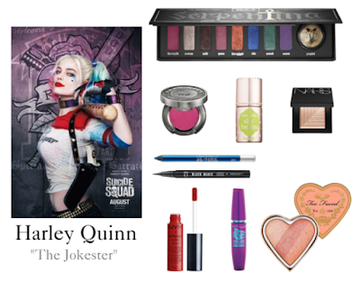 harley quinn make up