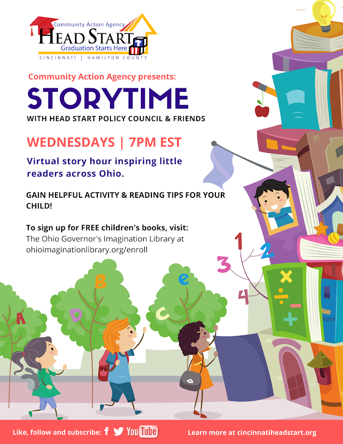 Storytime with Head Start Policy Council & Friends