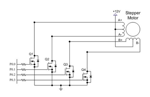 74ls192 puter controller 4 dc motors circuit wiring diagram auto