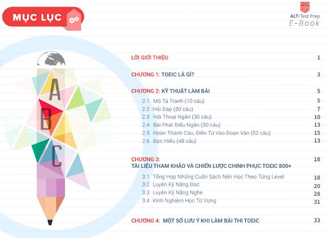 [Ebook] Chia sẻ kinh nghiệm Luyện thi TOEIC 888 điểm