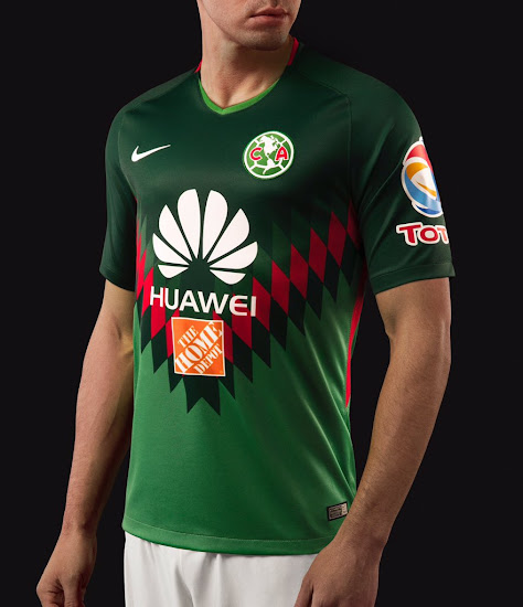separation shoes 15a34 33ff2 Stunning Mexico-Inspired Nike Club America 2018 Fourth Kit ...