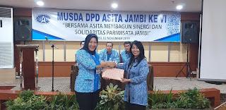 Ade Rosmala Dewi.SH Kembali Pimpin DPD ASITA Jambi Periode 2019-2024.