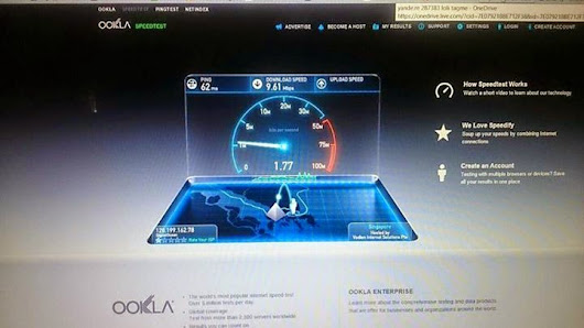 Speedtest resuts!