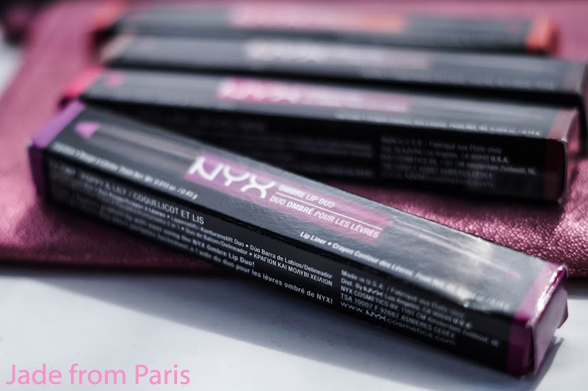 ombre lip duo nyx