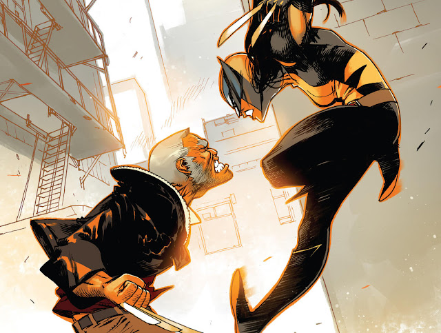x 23 vs wolverine comic