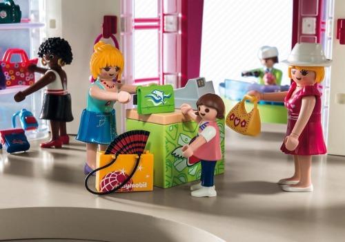 Playmobil winkelcentrum mode boutiek