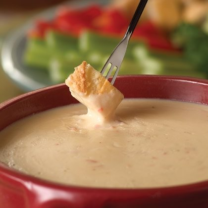 Mexican Cheese Fondue Recipe
