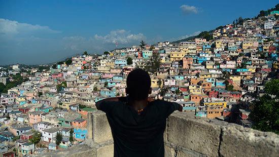 EN HAITI NO HAY PETROLEO, SOLO HAMBRE Y DESESPERANZA