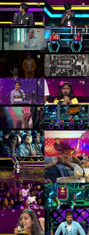 Screenshots Of Hindi Show Superstar Singer 6th July 2019 Episode 03 300MB 480P HD