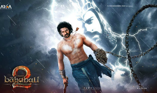 Bahubali 2 : The Conclusion, Bahubali 2 : The Conclusion First Look, Bahubali 2 : The Conclusion Poster, Bahubali 2 : The Conclusion Prabhas, Bahubali 2 : The Conclusion SS Rajamouli