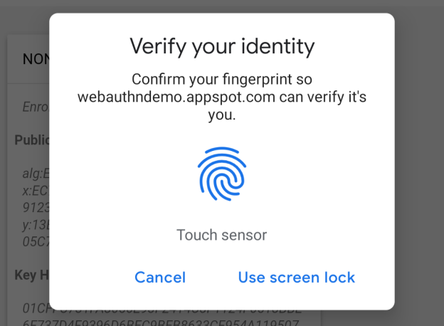 Chromium Blog: Chrome 70 beta: shape detection, web authentication