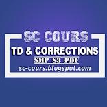 TOUT LES SERIE TD AVEC CORRECTION SMP S3 PDF