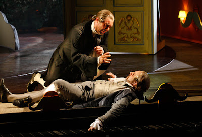Rossini: Il barbiere di Siviglia - David Soar, Riccardo Novaro - The Grange Festival (Photo Simon Annand)