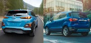 New vs. Used: 2020 Ford EcoSport vs. Hyundai Kona