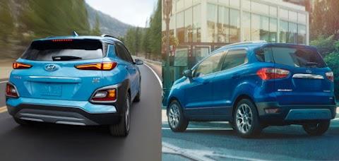 New vs. Used: 2020 Ford EcoSport vs. Hyundai Kona