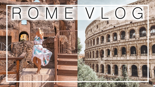 Rome travel vlog 2021