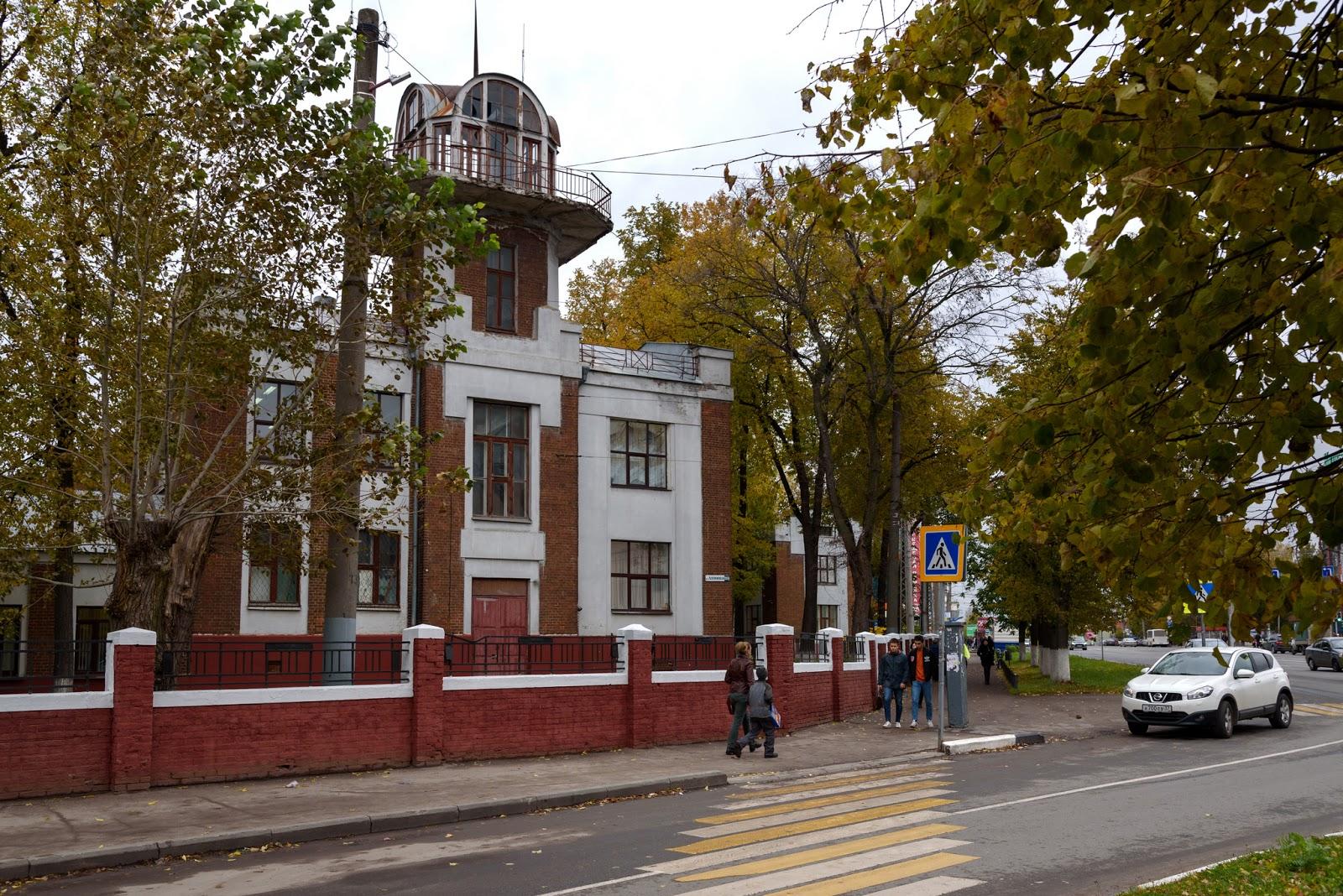 Дом-птица в Иванове. Конструктиивизм