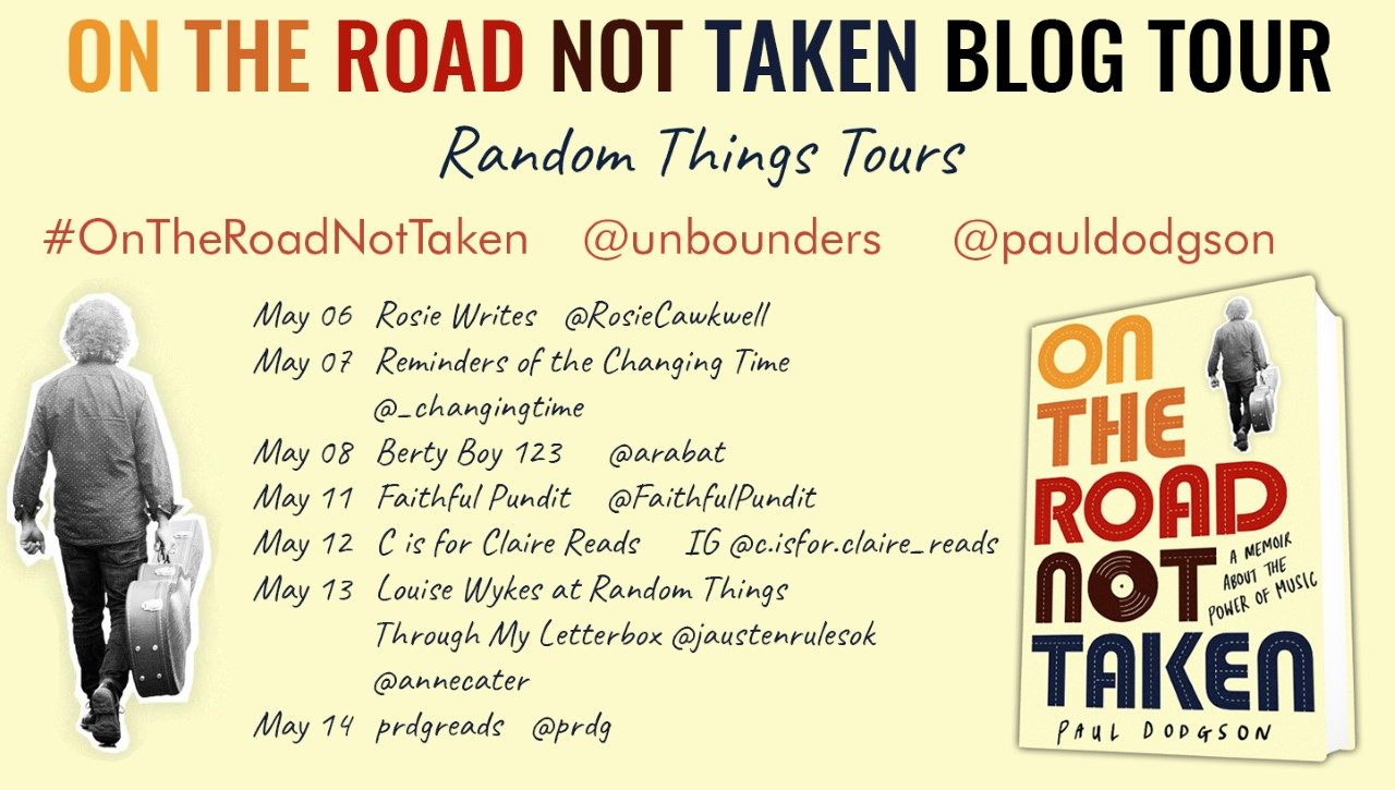 On the Road Not Taken, Paul Dodgson Blog Tour Review