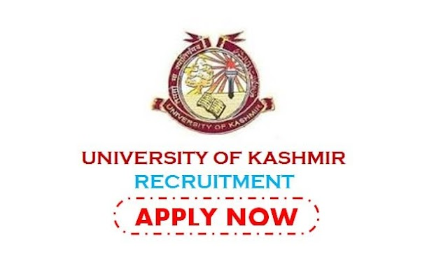 Post Name Lecturers | University of Kashmir interview notice for the post of contractual lecturers } Kashmir Updates