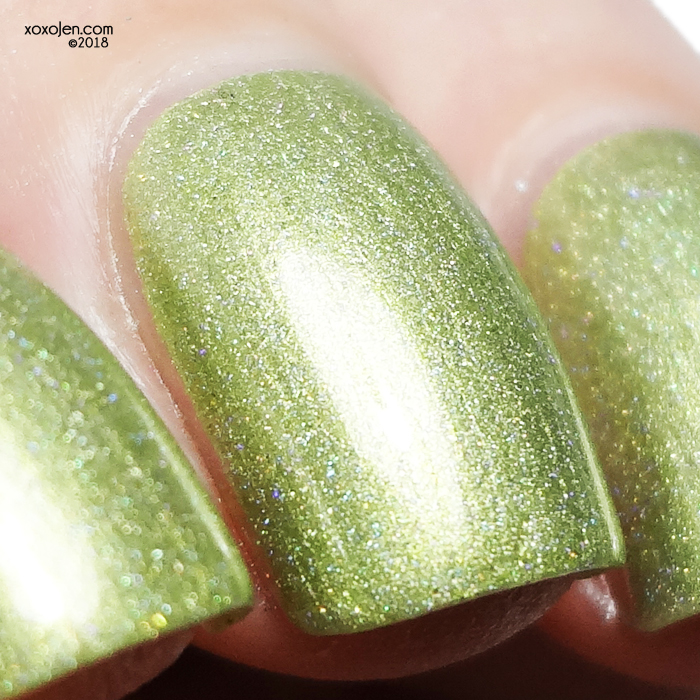 xoxoJen's swatch of Leesha's Lacquer Ah! I Touched the Seaweed!