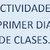 MI PRIMER DIA DE CLASES