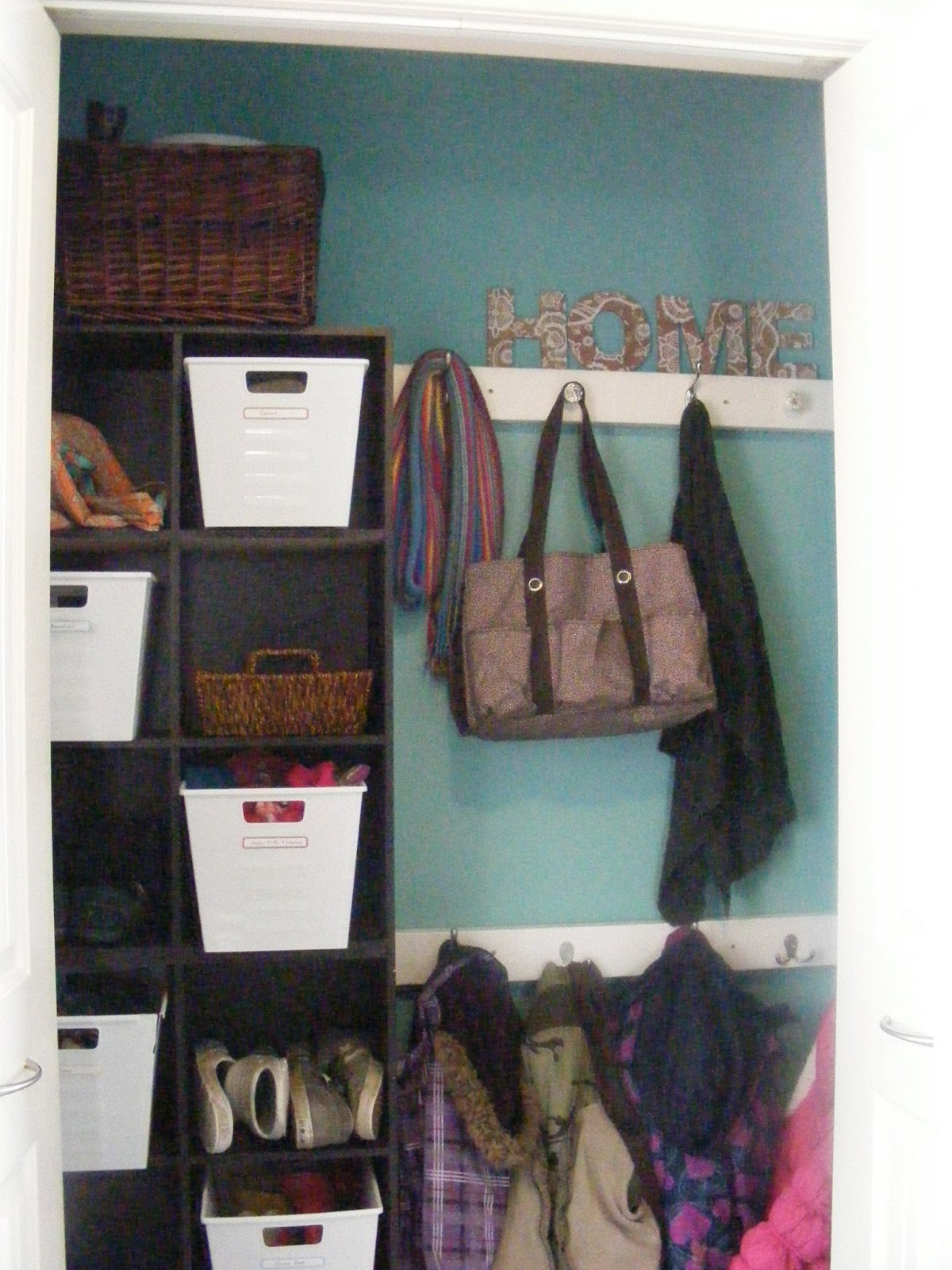 The Complete Guide To Imperfect Homemaking My New Organized Coat Closet
