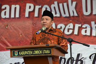 Bupati Lombok Utara Tutup Pameran Pembangunan dan Produk Unggulan 2019