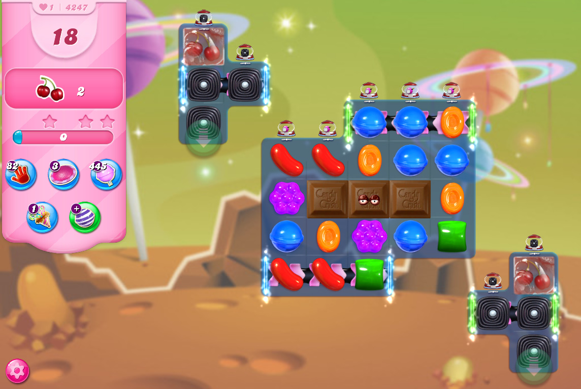 Candy Crush Saga level 4247