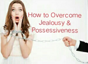 A person is trying to control his lady because of his jealous and possessive behavior