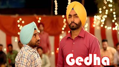 Gedha Lyrics - Saab Bahadar | Ammy Virk | Sunidhi Chauhan | White Hil