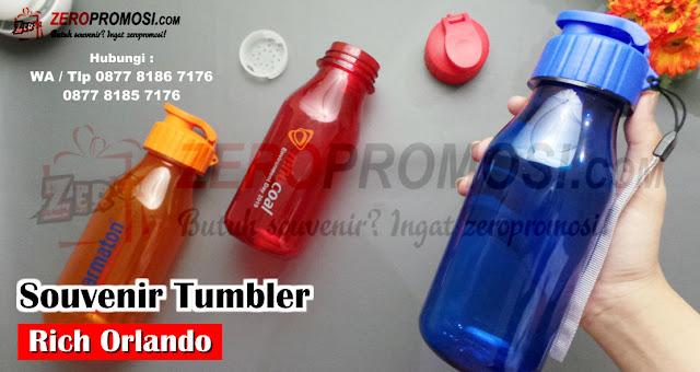 Tumbler Plastik Orlando Hydration Water Bottle, Souvenir Botol Minum,  Tumbler Rich Orlando, Souvenir Botol Minum, Tumbler Rich Orlando, Botol Minum Orlando, barang promosi, zeropromosi