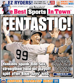 Who else but Yanks on Post's cover?