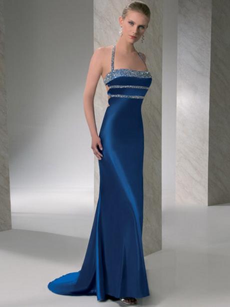 Vestido de madrina azul
