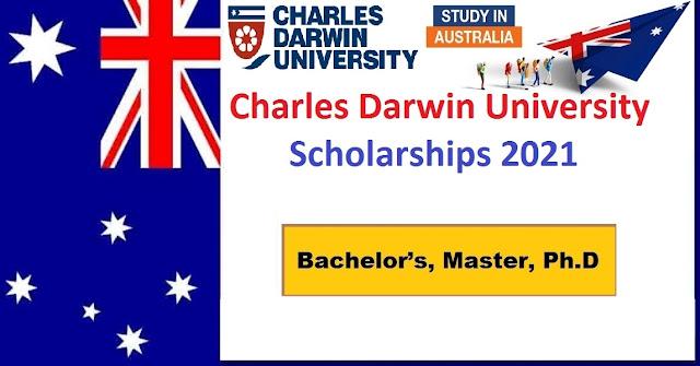 منح جامعة تشارلز داروين 2021 في أستراليا - ممولة بالكامل
