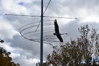 Egret in Flight by Michael Murphy | Wagga Wagga Public Art