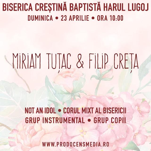 Concert Not and Idol la Biserica Harul Lugoj - 23 aprilie