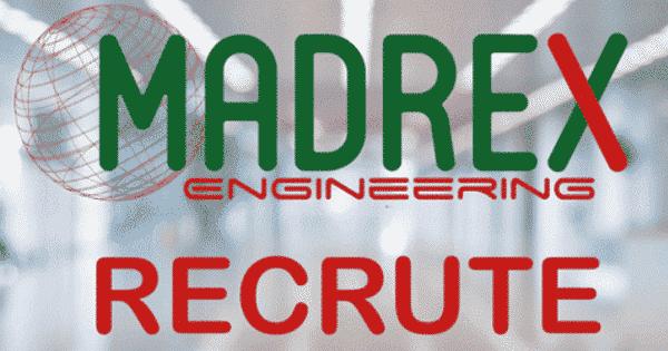 شركة مادريكس أنجينيورين تعلن عن حملة توظيف مهندسين بمجالات مختلفة