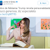 DESESPERO: Em matéria ridícula, O Globo ataca Melania Trump através da caligrafia