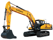 Hyundai Excavators HX330L