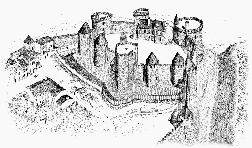 PRENY (54) - Le château-fort