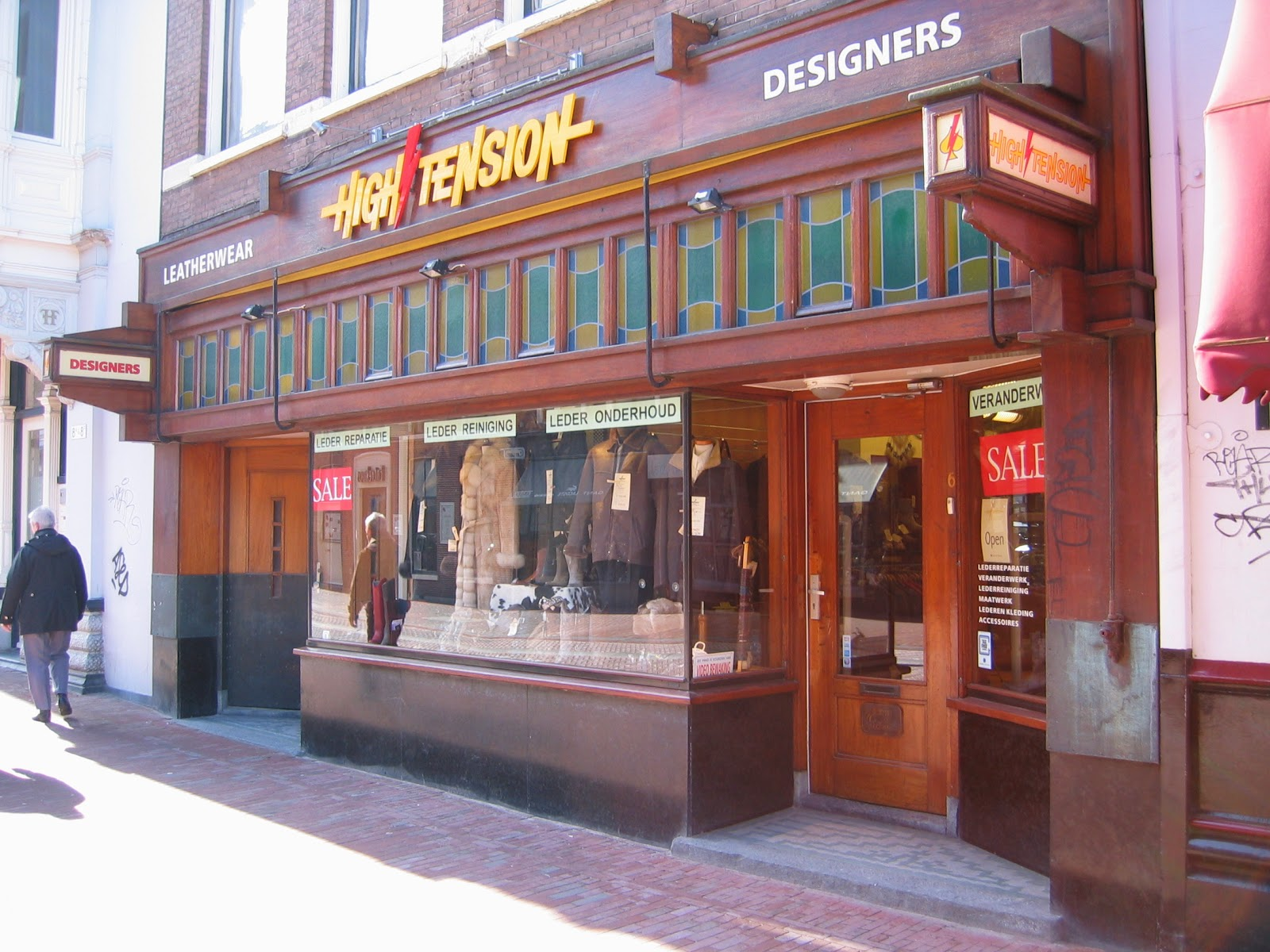 Winkel Haarlem gesloten
