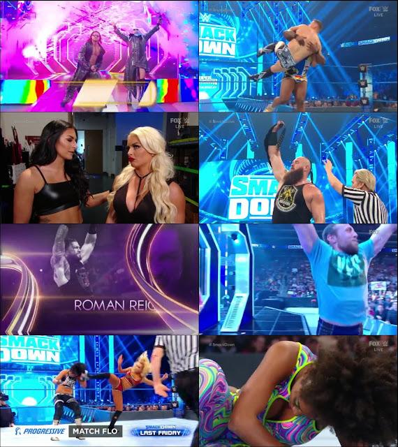 WWE Friday Night Smackdown 21 February 2020 720p HDTV