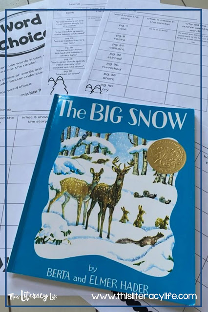 Authors use words to help readers create a picture. Use books to help students see how word choice matters.