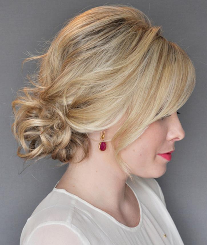 adems los peinados recogidos estilizan tu rostrodndole detalles femeninos y sofisticados a tu imgen - Recogidos De Fiesta
