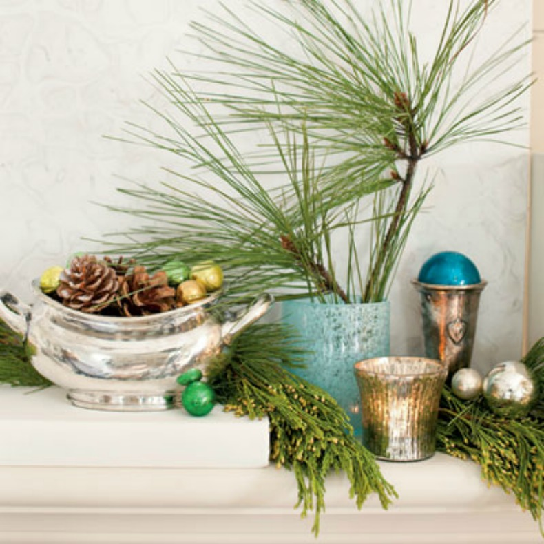 Christmas coastal decor