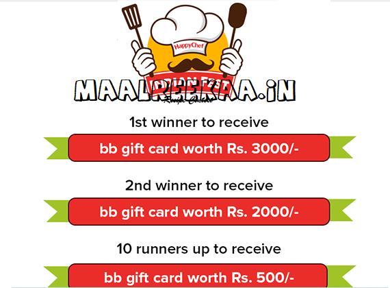 HappyChef Indian Recipe Contest