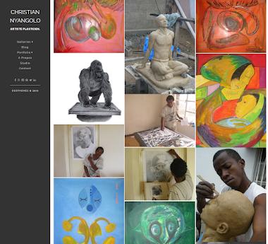 Plastic Artist website - Christian Nyangolo